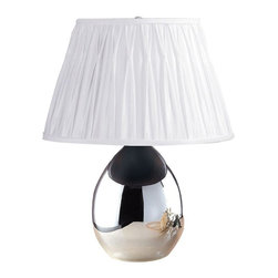 Laura Ashley - Laura Ashley BTP410 Tierney Mirrored Table Lamp Base - Laura Ashley BTP410 Tierney Mirrored Table Lamp Base