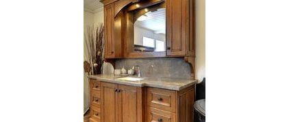 Traditional Bathroom Vanities And Sink Consoles by Interiors by Marcia