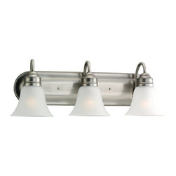 Sea Gull Lighting - Sea Gull Lighting 49852BLE-965 Gladstone ENERGY STAR Fluorescent Bathroom Light - Three Light Fluorescent Bath Bar Mounts Up or Down. cUL listed for Damp Locations.