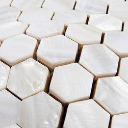 8mm Mother of pearl tiles kitchen backsplash PEM0038 - Collection: Mother of Pearl Tile