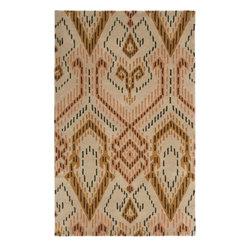 Safavieh - Clare Hand Tufted Rug, Brown / Ivory 5' X 8' - Construction Method: Hand Tufted. Country of Origin: India. Care Instructions: Vacuum Regularly To Prevent Dust And Crumbs From Settling Into The Roots Of The Fibers. Avoid Direct And Continuous Exposure To Sunlight. Use Rug Protectors Under The Legs Of Heavy Furniture To Avoid Flattening Piles. Do Not Pull Loose Ends; Clip Them With Scissors To Remove. Turn Carpet Occasionally To Equalize Wear. Remove Spills Immediately. Safavieh's artistry is vividly displayed in the Wyndham collection with designs ranging from contemporary florals to traditional global motifs. Each richly-hued rug is hand-tufted by master weavers in India of top quality wool. Several designs recreate the one-of-a-kind look of fashionable over-dyed antique rugs using a special multi-colored yarn that is meticulously colored using ages-old pot dyeing techniques. After the dye is carefully applied to each strand of wool, touches of organic viscose are added for soft silky luster as special highlights accents.