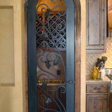 Mediterranean Interior Doors by D'Hierro Hand Forged Iron