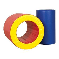 ECR4KIDS - ECR4KIDS Softzone Barrels of Fun Multicolor - ELR-12634 - Shop for Gyms and Play Mats from Hayneedle.com! It s full of foam instead of monkeys but the ECR4KIDS Softzone Barrels of Fun is still a barrel of fun for active toddlers. Made from phthalate-free vinyl stuffed with polyurethane foam this versatile two-piece toy has a removable center that opens up room to crawl through.About Early Childhood ResourcesEarly Childhood Resources is a wholesale manufacturer of early childhood and educational products. It is committed to developing and distributing only the highest-quality products ensuring that these products represent the maximum value in the marketplace. Combining its responsibility to the community and its desire to be environmentally conscious Early Childhood Resources has eliminated almost all of its cardboard waste by implementing commercial Cardboard Shredding equipment in its facilities. You can be assured of maximum value with Early Childhood Resources.