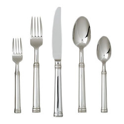 Tuscany 20-Piece Flatware Set - How about some clean-lined silverware to bring in a Tuscan feel?