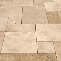 floor tiles by StoneMar Natural Stone Company LLC