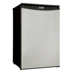 Danby - Danby Black 4.4 Cu. Ft. Compact All Refrigerators - Features: