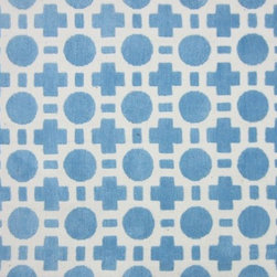 Loloi Rugs - Loloi Rugs Piper Collection - Blue Checkers, 2' x 3' - Transform the floor into a vibrant play area for your child with the cheerful Piper Collection. Distinguished by its incredibly soft microfiber polyester surface and playful geometric and linear designs, the machine woven Piper Collection instantly l