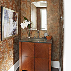traditional powder room by Kohler