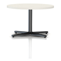Herman Miller - Round Everywhere Table - Pared down to its simplest form, this table has ample workspace that allows you to take on endeavors small and large. Its clean, simple lines blend beautifully with other furnishings in the office, with a no-frills functionality that adapts to any furniture configuration.