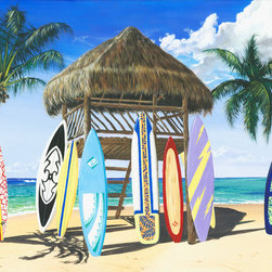 Murals Your Way - Our Gang Vinyl Wall Decal, Wall Art - Painted by Scott Westmoreland, the Our Gang Vinyl Wall Decal from Vinyl Wall Decals Your Way wil be a great addition to any room in your home or
