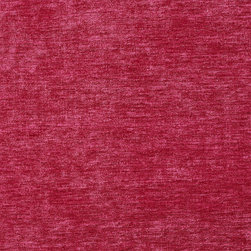 Fuchsia Purple Pink Solid Woven Velvet Upholstery Fabric By The Yard - This velvet is truly unique in the way that it shines. In addition, it is very durable and comfortable too! This material is great for residential, commercial and hospitality upholstery.