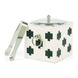 Bath House Ice Bucket - Bath House Ice Bucket.  For the mod entertainers, this is a must have piece.