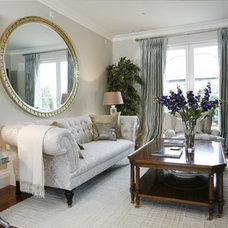 Traditional Living Room by Ventura Interior Design