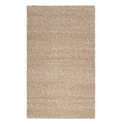 "Surya - Surya Country Jutes Hand Woven Tan Jute Rug, 8' x 10'6"" - Another inspired ensemble from Country Living, the Country Jutes Collection exemplifies the essence of casual style. Hand-woven from all natural jute in monochromatic shades of beige, each rug combines fibers to create a variety of patterns that exude a simple elegance ideal for traditional to transitional interiors. Imported.Material: 100% JuteCare Instructions: Blot Stains"