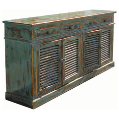 traditional buffets and sideboards by Golden Lotus Inc