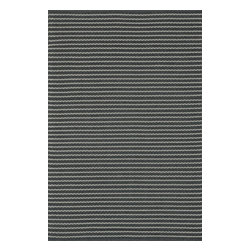 Loloi Rugs - Loloi Rugs Terra Charcoal Contemporary Indoor / Outdoor Rug X-656300CC20-ETRRET - The simple striped pattern of this Loloi Rugs indoor / outdoor floor rug is complimented by micro-detailing, which gives it depth. From the Terra Collection, this multi-purpose floor rug is available in several sizes and features a beautiful, versatile charcoal color palette.