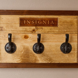 Wine Crate Keyhook- Insignia - Wine crates available from locales worldwide.