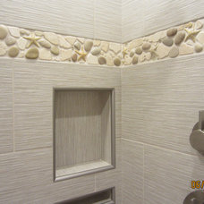 Traditional Bathroom by Wet Dog Tile Co.