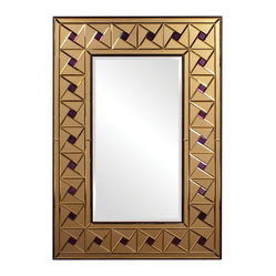 Contemporary Rectangular Glass Framed Mirror