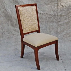 Revere Dining Table - Custom sized dining chair with arms