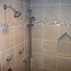 Contemporary Showers by Cabinet-S-Top