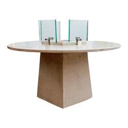 DeWulf - DeWulf James DeWulf Locking Fire Table - About Concrete: