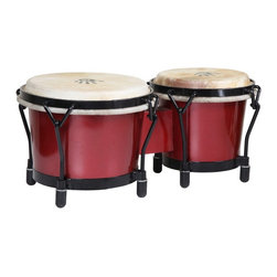 X8 Drums - X8 Drums Red Professional Bongo Drums - X8-BNG-JRNY-RD - Shop for Toy Instruments from Hayneedle.com! The X8 Drums Red Professional Bongo Drums are as sturdy as they are stunning. These bongos produce incredible tone and volume. Additionally since they are made from virtually indestructible PVC they'll last for a lifetime of poetry jams. About X8 DrumsX8 Drums truly walks to the beat of their own drum. This family-owned company is committed to providing the best selection of high-quality musical instruments with an emphasis on world music percussion instruments. X8 Drums has certainly helped champion ethnic hand drums in the digital age thanks to its founders - a New York City rocker and an internet sage.