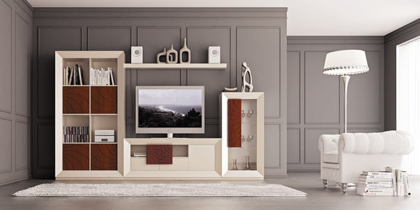 Contemporary Entertainment Centers And Tv Stands by Macral Design Corp