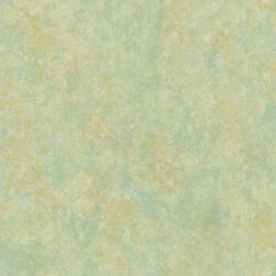 Brewster - Brewster Green Texture Scrubbable Wallpaper - A mix of beautiful green hues, this sage wallpaper creates an intricate sponge paint texture with olive green and jade undertones. This wallpaper highlights a solid sheet vinyl construction that adds depth and character.