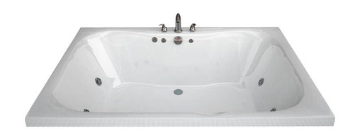 Spa World Corp - Atlantis Tubs 4860NWL Neptune 48x60x23 Rectangular Whirlpool Jetted Bathtub - The Neptune encompasses a cutting edge design, it's smooth contours embrace you tight while having an ample bathing area. The Neptune can effortlessly accommodate two, while still offering all the luxuries of a peaceful spa experience. Lay back, relax and enjoy the massaging jets while the contours of the bathing interior caress your body.