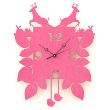 Eclectic Cuckoo Clocks by Etsy