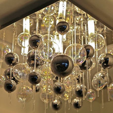 Contemporary Ceiling Lighting by Allison Lind Interiors