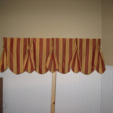 Traditional Curtains by Material Girl