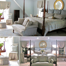 Traditional Bedroom by South Shore Decorating