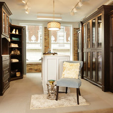 Traditional Closet by Custom Closet & Cabinet Systems
