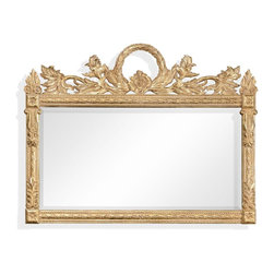 Jonathan Charles - New Jonathan Charles Overmantle Mirror Gold - Product Details