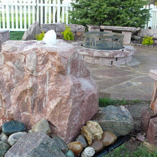 Traditional Outdoor Fountains by Jasper Stone Company