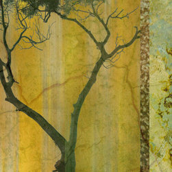 Murals Your Way - Golden Echos 2 Wall Art - Wallpaper is so last century! The new way to add color and texture to your wall is with a mural like Golden Echoes 2