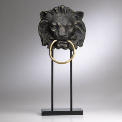 Lion Towel Holder - This lion towel holder could be the perfect decor for March. I would pair it with a lamb-soft fluffy white towel for the ultimate subtle March humor.
