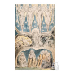 The Creation, Page 14 from 'Illustrations of the Book of Job' after William Blak -