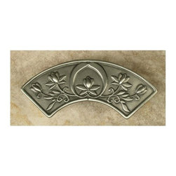 Anne At Home - Asian Pull (Set of 10) - Hand cast and finished. Made in the USA. Pewter with brass insert. Collection: Asian. 4.75 in. L x 1.25 in. W x 1 in. H
