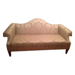 Ethan Allen Natural Colored Hepburn Sofa - Retail Price: $1849