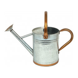 Sheffield Watering Can - All of those flowers will need some water. I love this classic galvanized steel watering can.