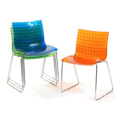 Knoll X3 Chair - I love the sherbet hues this darling modern chair comes in. In fact, I think I'd be tempted to but one in every color and pull them up to a large Saarinen oval tulip table.