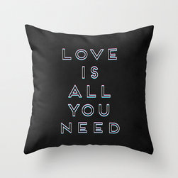 Love Is All You Need // Throw Pillow -