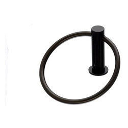 Top Knobs - Bath Ring - Oil Rubbed Bronze (TKHOP5ORB) - Hopewell Bath Ring - Oil Rubbed Bronze