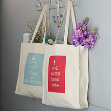 nostalgic saying bag by catherine colebrook | notonthehighstreet.com