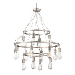 Minka Lavery - Minka Lavery 1139 16 Light 3 Tier Chandelier from the Downtown Edison Collection - Sixteen Light Three Tier Chandelier from the Downtown Edison CollectionFeatures: