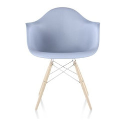 Herman Miller - Herman Miller | Eames® Molded Plastic Armchair with Dowel-Leg Base - Design by Charles & Ray Eames, 1948.