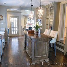 Traditional Kitchen by The Luxe Designer